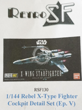 RSF130 X-Wing Cockpit Detail Set Ep. V retrokiT RetroSF