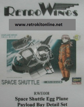 RWE008 Space Shuttle Payload Bay Detail Set RetrkiT