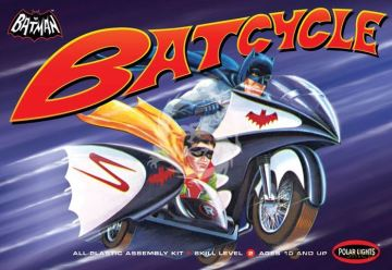 Batman Batcycle Polar Lights 847 - 1/25