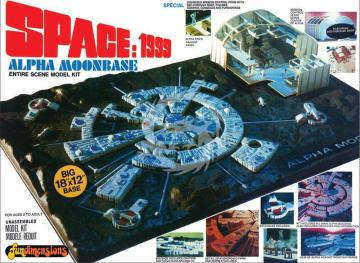 Space 1999 Moonbase Alpha 1/115 oraz 1/2000 MPC803