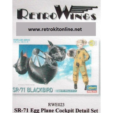 RWE023 SR-71 Blackbird Cockpit Detail Set RetrokiT