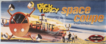 Dick Tracy Space Coupe  - 1/72