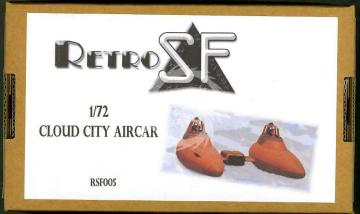 Cloud City Aircar 1/72 RSF005 retrokiT