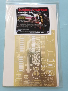 PGX201 X-Wing Fighter Photoetch Set, for Revell / FineMolds 1/48 Paragrafix