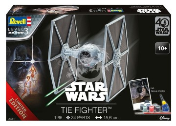 TIE Fighter Limited Edition Revell 06051 - 1/65