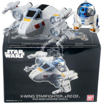 Star Wars CONVERGE Vehicle X-wing Starfighter & R2-D2 Boxset Figure Egg Bandai