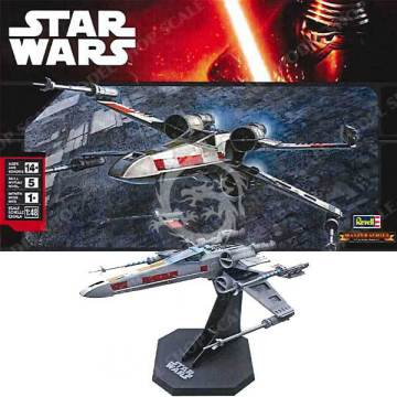 X-wing Fighter Fine Molds SW_9 / Revell 15091 - 85-5091 - 1:48