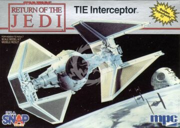 MPC - Return of the Jedi - TIE Interceptor MPC 1972  1/51