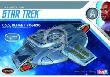U.S.S. Defiant NX-74205 Polar Lights POL 952 Star Trek 1/1000