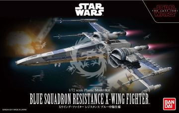 X-Wing Starfighter Blue Squadron Resistance - The last Jedi