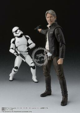 S.H.Figuarts Han Solo - The Force Awakens 15 cm Bandai Star Wars