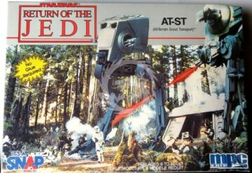 MPC - Return of the Jedi - AT-ST (All-Terrain Scout Transport) MPC 1-1976 1/54