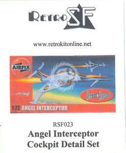 Angel Interceptor Cockpit Detail Set 1/72 RSF023 RetrokiT