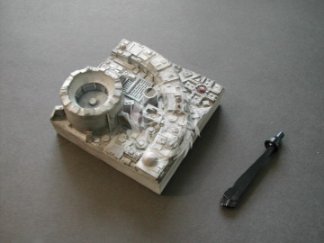 Death Star Display Stand nr.2 Shield Generator RSF135 Retrokit 1/144