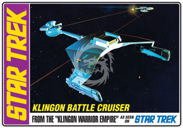 Star Trek Klingon D7 Battlecruiser AMT