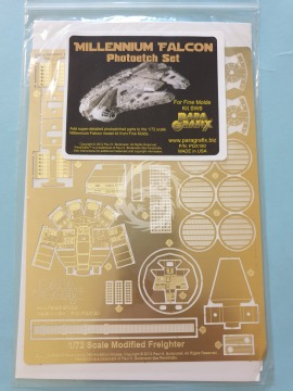 PGX180 Fine Molds Millennium Falcon Photoetch Set (1/72) Paragrafix