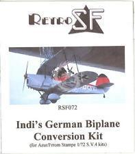 Indi's German Biplane Conversion Kit (do Azur) 1/72 RSF072 RetrokiT
