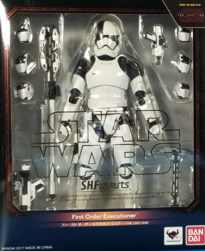 S.H.Figuarts STORMTROOPER FIRST ORDER EXECUTIONER - Last Jedi 15cm Bandai Star Wars