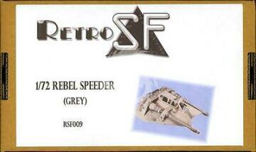 Rebel SnowSpeeder (Grey) 1/72 RSF009 RetrokiT