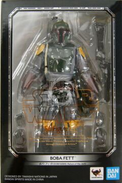 S.H.Figuarts BOBA FETT - Ep VI 6 Return of the Jedi - 15 cm bandai Star wars