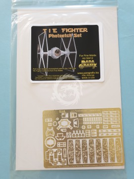 PGX182 Fine Molds TIE Fighter Photoetch Set (1/48) Paragrafix