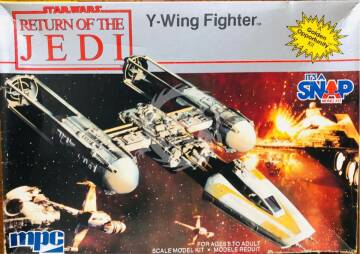 MPC - Return of the Jedi - Y-Wing Fighter MPC nr 1975 skala 1/95