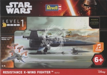 X-Wing Fighter Resistance Revell 06753 - 1/78