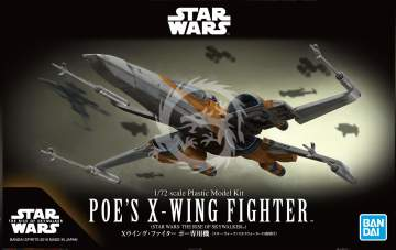 X-Wing Fighter Poe's  (The Rise of Skywalker) Orange