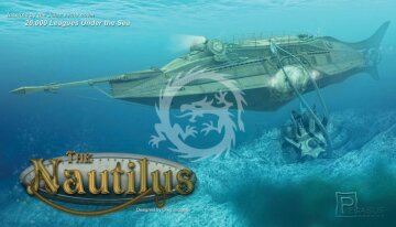 The Nautilus Pegasus 9120 skala 1/144