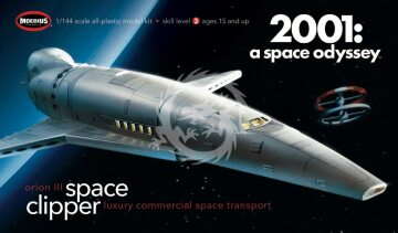 Orion III Space Clipper - Luxury commercial space transport - 2001 a space odyssey Moebius 2001-2 skala 1/160