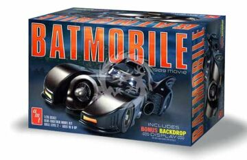Batman 1989 Batmobile AMT 935 - 1/25