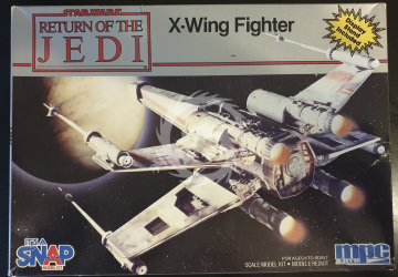 X-Wing Fighter - Return of the Jedi - MPC 1971 - 1/63