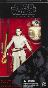 Black Series 02 - 15cm Rey Jakku and BB-8 (The Force Awakens) Hasbro Star Wars
