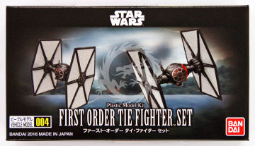 First Order Tie Fighter set 1/144 Bandai