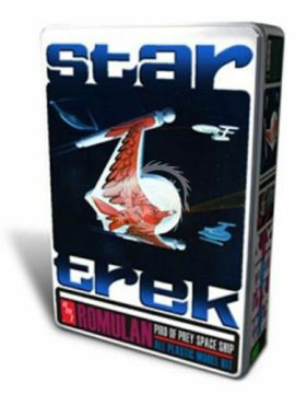 Star Trek Romulan Bird-Of-Prey Collectors Tin Edition 1/650