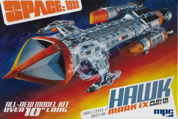 Space 1999 Hawk Mark IX 1/72 MPC881