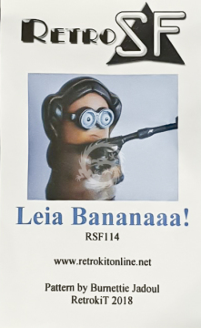 Leia Bananaaa! (Princess Leia Minion) RSF114  RetrokiT