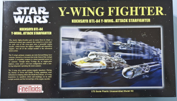 Y-Wing Fighter Koensayr BTL-A4 Y-Wing Attack Starfighter FineMolds. SW-8 - 1:72