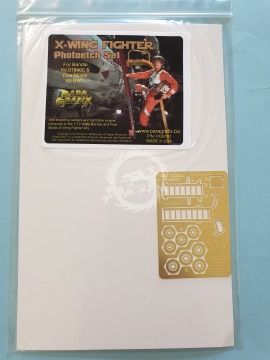 PGX191 X-Wing Fighter Photoetch Set - 1/72 Scale Paragrafix