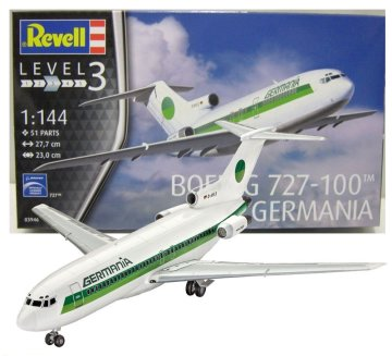 Boeing 727-100 Germania Revell 03946 1/144