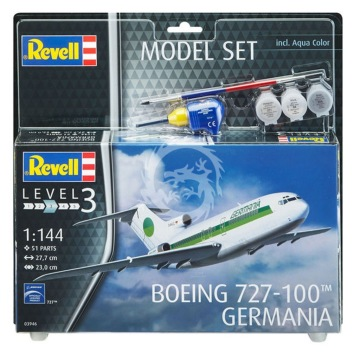 Boeing 727-100 Germania Revell 03946 1/144 + farby