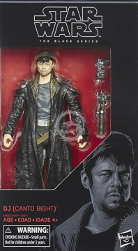 Black Series 57 - 15cm DJ (Canto Bight) (The Last Jedi) Hasbro Star Wars