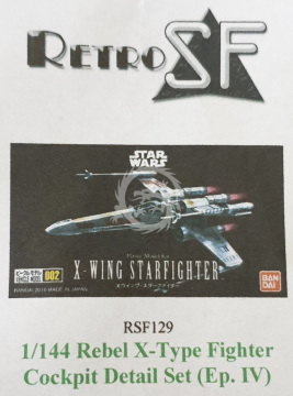 RSF129 X-Wing Cockpit Detail Set Ep. IV retrokiT RetroSF