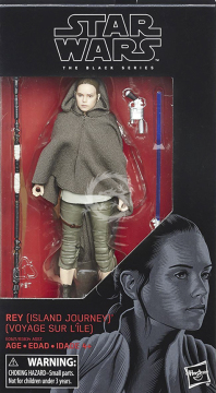 Black Series 58 - 15cm Rey Island Journey (The Last Jedi) Hasbro Star Wars