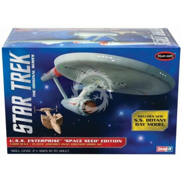 Star Trek U.S.S. Enterprise Space Seed Edition Polar Lights POL908 1/1000