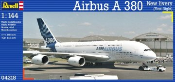 Airbus A380-800 New livery (First flight) Revell 04218 - 1/144