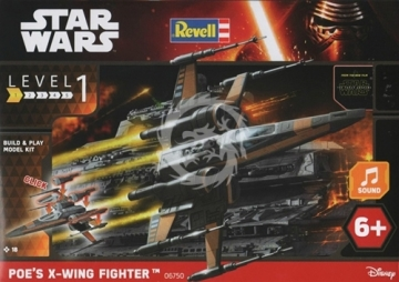 Poes X-Wing Fighter The Force awakens Revell 06750 - 1_78