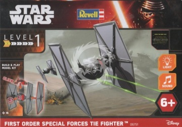 Revell TIE Fighter First Order Special Forces The Force awakens Revell 06593 - 1/51