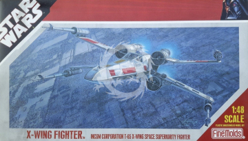 X-Wing Fighter T-65 FineMolds SW-9  1/48